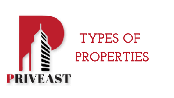 Types of properties Priveast